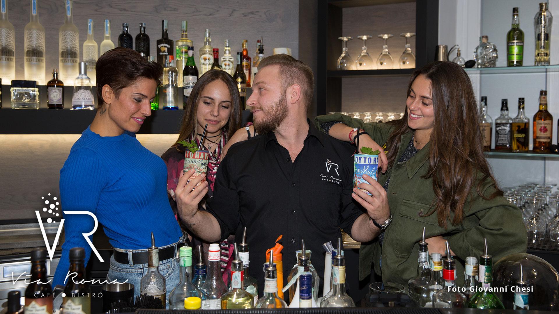 Cafè slide 2 cocktails