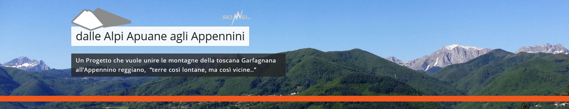 Sito Apuane-Appennini..